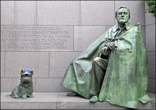 File:The Peace Hat, FDR (WWll) and Fala, Too!.jpg