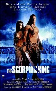 Scorpion king novel
