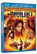 Scorpion king 3 blu-ray