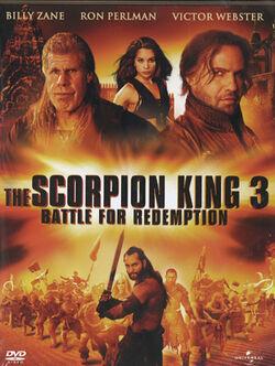 Scorpion king 3 dvd 2