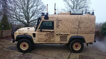 Snatch Land Rover Used By Scottish Special Air Service (SSAS), Rapid Deployment Force (RDF)