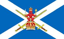 Scottish Army Flag