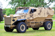 Force Protection Ocelot LPPV Used by Special Response Unit (SRU), Military Police Unit (MPU) and Rapid Deployment Force (RDF)