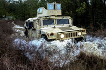 Humvee Used By Military Police Unit (MPU), Rapid Reaction Force (RRF)