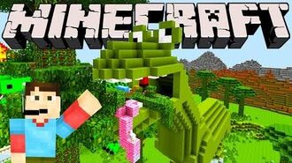 Minecraft Dinosaur Land!