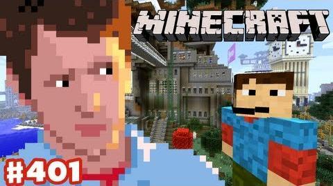 Minecraft - Purple Zebra Lighthouse - Episode 401