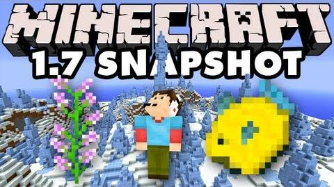 Episode 907 - Minecraft 1.7 Snapshot - New Biomes, Fish, and Flowers!