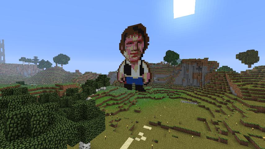 Han Solo Pixel Art | ScottLand Minecraft Wiki | FANDOM
