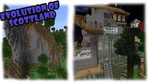 Minecraft - The Evolution of Scottland