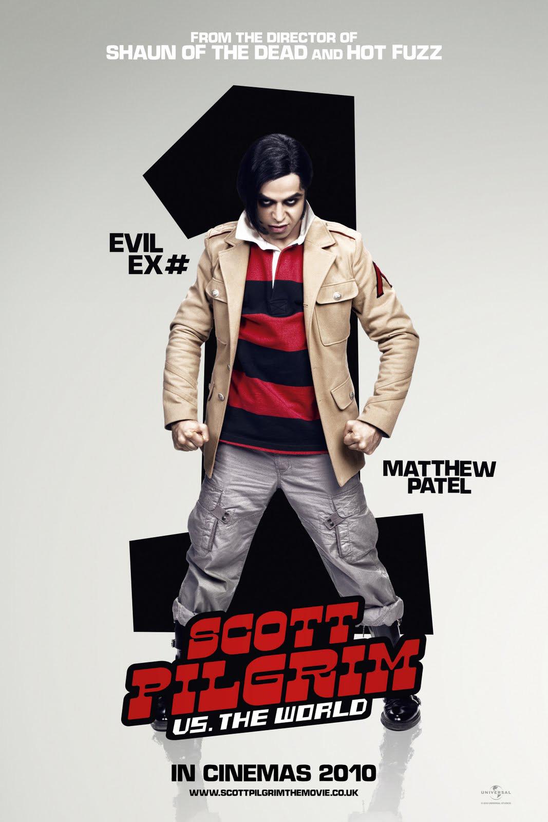 Image - SP Poster 3 - Matthew Patel.jpg | Scott Pilgrim Wiki ...