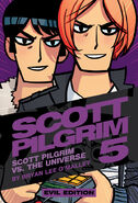 Scott Pilgrim volume 5 Evil Edition