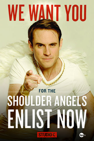Shoulder Angel Poster