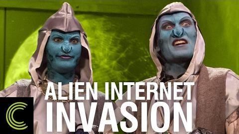 Alien Internet Invasion