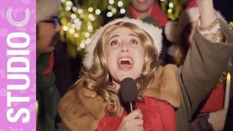 Celine Dion Goes Christmas Caroling