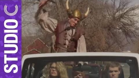 Awkward Avoidance Viking Drive-By