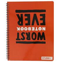 Studio C Worst Notebook Ever Notebook