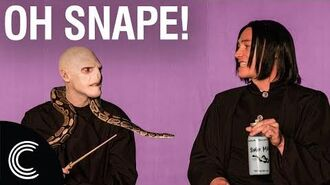 Oh Snape with Voldemort and Severus The Potters