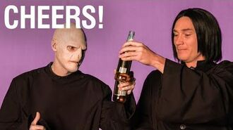 Oh Snape with Voldemort and Severus Wizard Food
