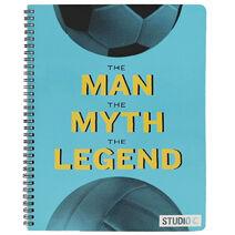 Studio C The Man the Myth the Legend Notebook