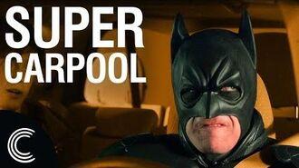 Batman Drives Uber 2 Family Time