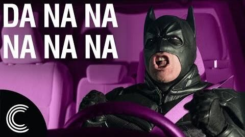 Batman Drives Uber