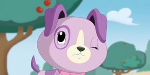 Violet-winking