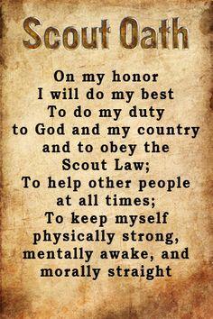 Scout Oath 2016