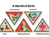 A World of Girls (Brownie Journey)
