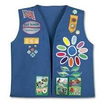 Girl Scout Daisy Vest