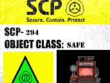 SCP-294