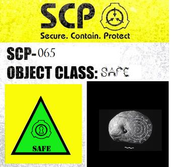 SCP 065 | SCP: Containment is Magic Wiki | Fandom