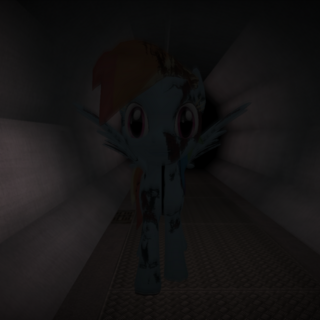 LTF-106 chasing the player in the Tunnels.