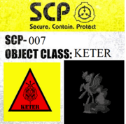 SCP-007 Sign
