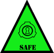 Scp foundation safe symbol warning by lycan therapy-d4v0w1t