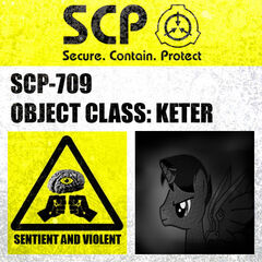SCP-709's Containment Sign