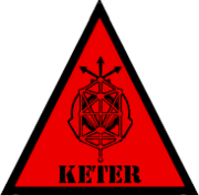 Scp foundation keter symbol warning by lycan therapy-d4v0vp3