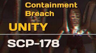 SCP-178 Unity SCP Containment Breach
