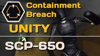 SCP-650 Unity SCP Containment Breach