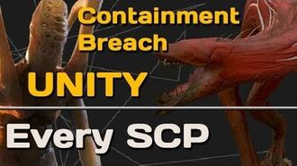 Every SCP in Containment Breach Unity v0.5.7