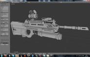 Sci fi assault rifle by divinitystudio-d4zhjbr