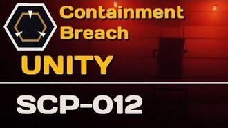 SCP-012 Unity SCP Containment Breach