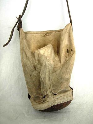 Leather nosebag