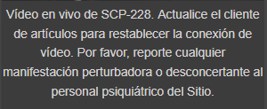 SCP-228-Descripción