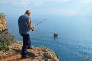 Tarde tranquila de pesca