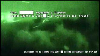 SCP-096 Incidente de recuperación 096-1-A CLASIFICADO, SÓLO PERSONAL AUTORIZADO