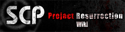 SCP: CB - Project Resurrection Wiki