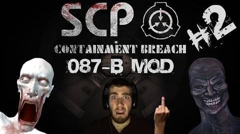 Видео - SCP Containment Breach 087-B Mod 106 Doesn't Want Me