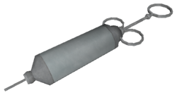 Syringe model