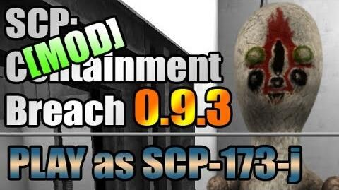 Playing as SCP-173-J - SCP Fan Breach (SCP CB mod)