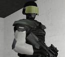 Охранник у камеры SCP-173